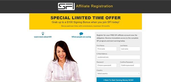 SFI Sign Up