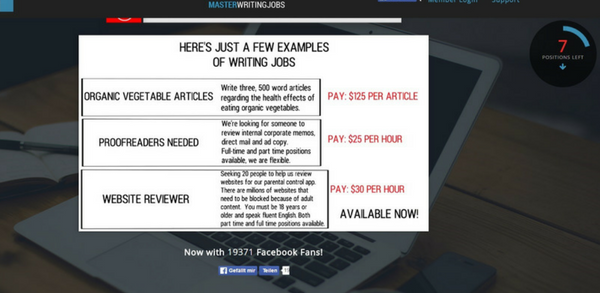 Master Writing Jobs Creates Hype With High Job Offers